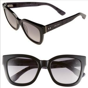 Jimmy Choo Ottis Black Spotted sunglasses
